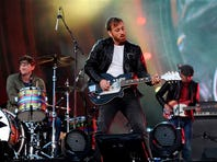 Alt-rock band The Killers is one of the headline acts for the 2014 Hangout Music Fest.