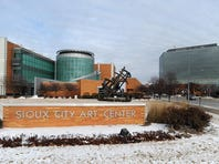 The Sioux City Art Museum in Sioux City, Iowa.