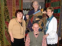Quilts help woman find her history