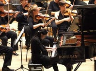 Italian pianist Loredana Lentini performs with Moravian Philarmonic Orchestra in Prague. Lentini will perform with the Rapides Symphony Orchestra Sunday at St. Francis Xavier Cathedral.