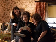"""Julian Nicholson (from left), Meryl Streep and Margo Martindale star in """"August: Osage County."""""""