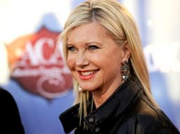 Olivia Newton-John, 65, announced a headlining residency in Las Vegas. She will perform 45 shows at the Donny and Marie Showroom at The Flamingo, starting April 8.