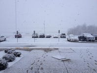 Snow in Portland prompted officials to close Sumner schools two hours early today.