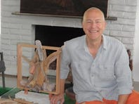"""Richard Hovel's exhibit """"Assembled"""" opens Saturday at Flow Modern Design in Palm Springs. The exhibit features his wood wall-hung and tabletop sculptures which can be """"assembled"""" individually to form larger pieces."""