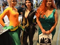 Comic Con encouraged attendees to dress as pop culture icons.