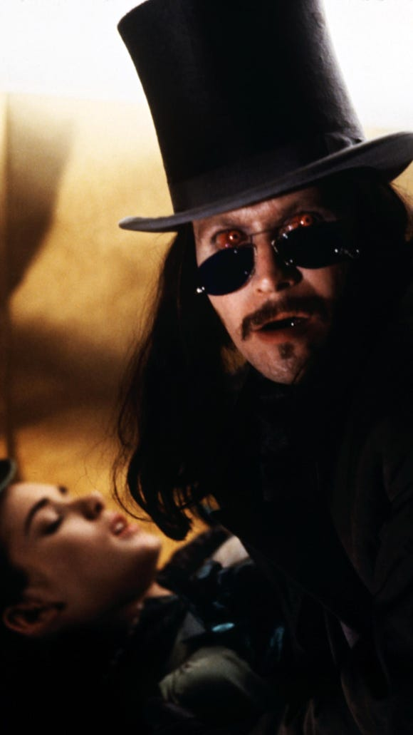 Gary Oldman (with Winona Ryder) gives Dracula some