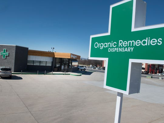 Organic Remedies, a medical marijuana dispensary photographed Monday, March 5, 2018, opened in March at 900 Wayne Ave., Chambersburg. It is the lone dispensary in Franklin County.