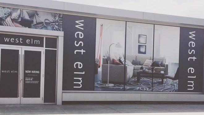 West Elm set to open July 23.