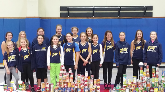 Members of the Webster Xtreme 12 U Girls Softball teams. (Provided photo)