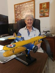 Edward Watson, of Cape Coral, was a fighter pilot during World War II.