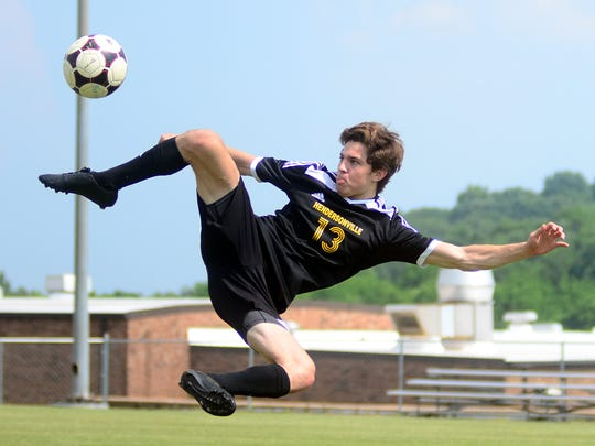 Hendersonville High senior Cole Egan is the Sumner County Defender of the Year.