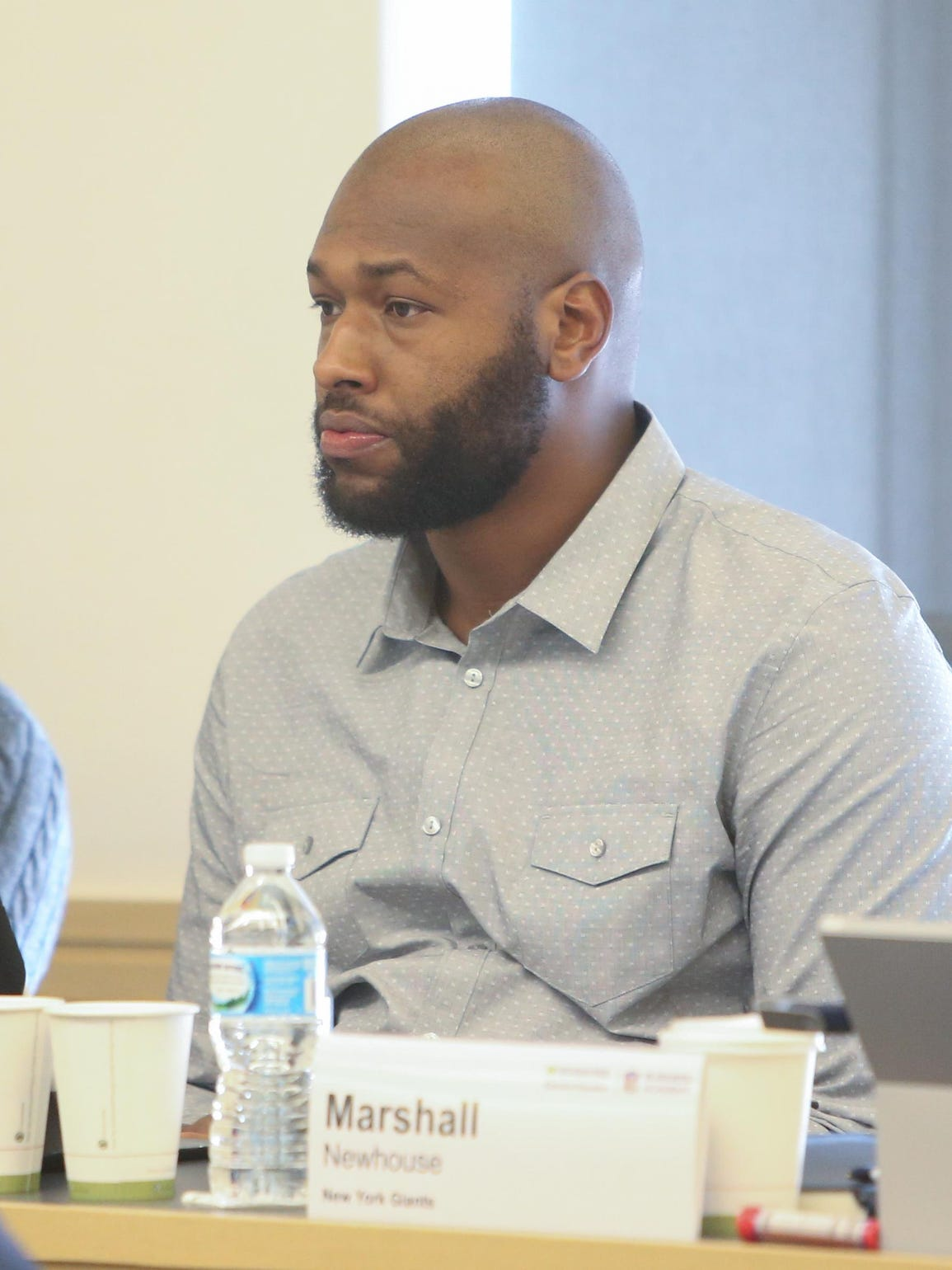 Lawrence Jackson attended the NFL Business Academy