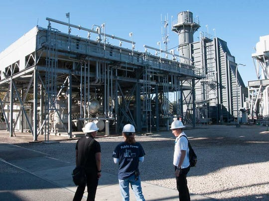The City seeks to find sustainable practices in all fields, including power production, which the Fellows learned about during a tour of one of the City's power generating facilities.