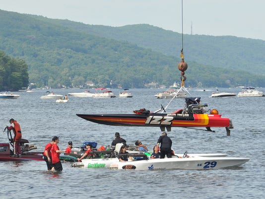 West Milford Greenwood Lake boat race