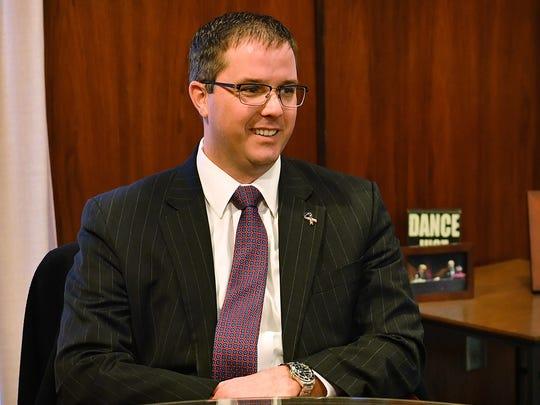 Judge Jeff McKnight of 30th District Court