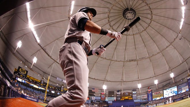 The team has played since its inception in Pinellas County at what now is called Tropicana Field.