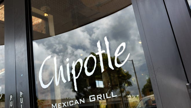 FILE - JANUARY 14: According to reports, Chipotle has temporarily suspended sales of pork in more than 1,700 of its restaurants following a violation of one of its suppliers on January 14, 2015. MIAMI, FL - MARCH 05:  A Chipotle restaurant is seen on March 5, 2014 in Miami, Florida. The Mexican fast food chain is reported to have tossed around the idea that it would temporarily suspend sales of guacamole due to an increase in food costs.  (Photo by Joe Raedle/Getty Images) ORG XMIT: 477196807 ORIG FILE ID: 476810327