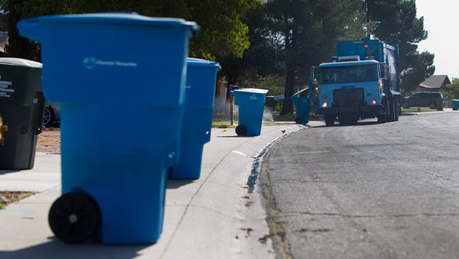 """The key word on prepping recyclables for the bin is """"relatively"""" -- as in relatively clean and dry."""