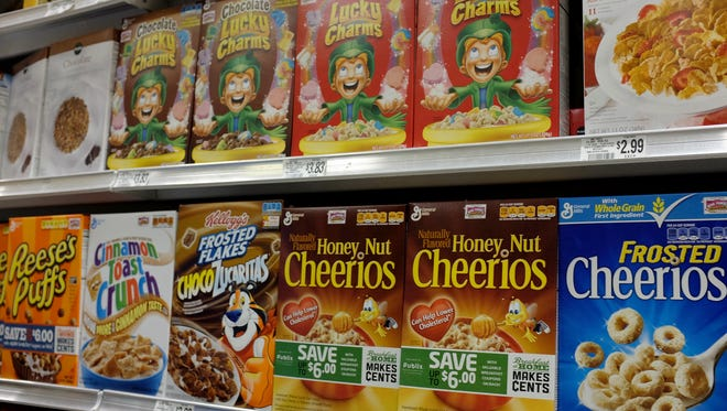 General Mills cereal products will be 100% artificial free by 2017, the company announced.