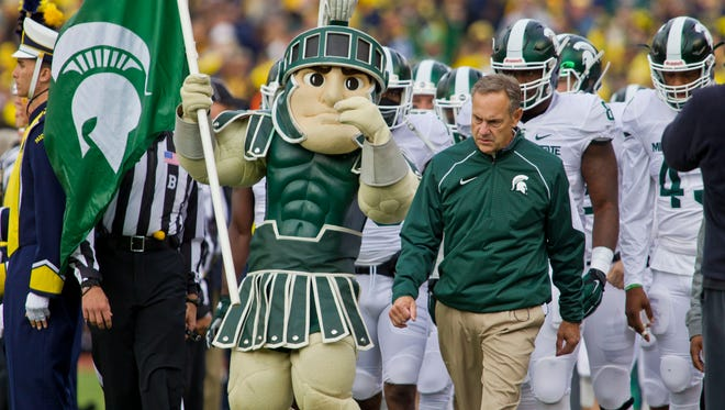 Even after winning all sorts of big games and fancy bowls, this could be Michigan State's official entrance to an exclusive club.