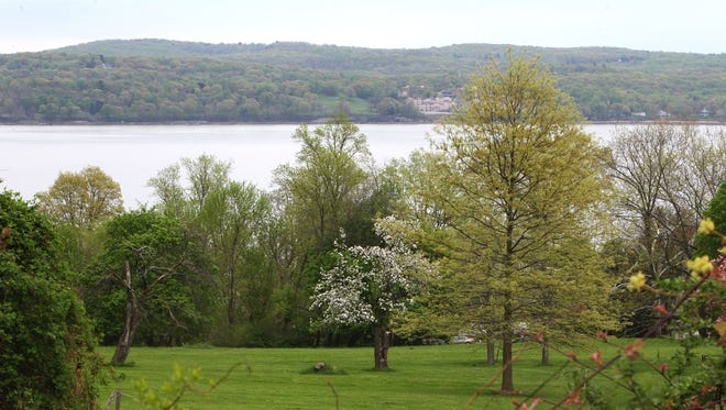 A view from the Marydell Faith and Life Center in Upper Nyack, on May 6.
