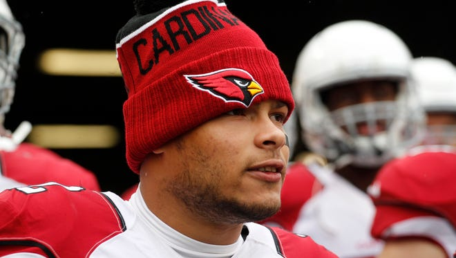 Arizona Cardinals free safety Tyrann Mathieu (32) prepares to take the field against the Pittsburgh Steelers at Heinz Field. The Steelers won 25-13.