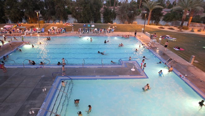 The Palm Desert Aquatic Center in Civic Center Park is hosting the University of British Columbia swim teams through Jan. 9 for training.