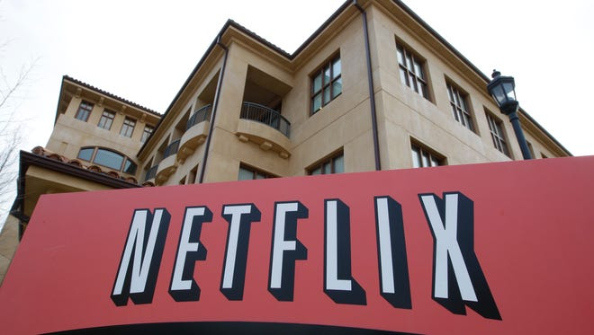 This March 20, 2012, photo, shows Netfilx headquarters in Los Gatos, Calif. Netflix is the top-performing stock in the S&P 500 stock index in 2015.  (AP Photo/Paul Sakuma, File)
