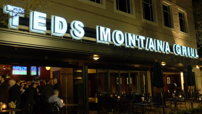 A Ted's Montana Grill in Alpharetta, Georgia, is shown. The steakhouse chain specializing in bison will open its first Delaware location at the Christiana Fashion Center by early January.