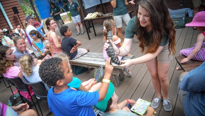 The Conservancy of Southwest Florida will offer two live reptile shows during its Earth Day Festival.