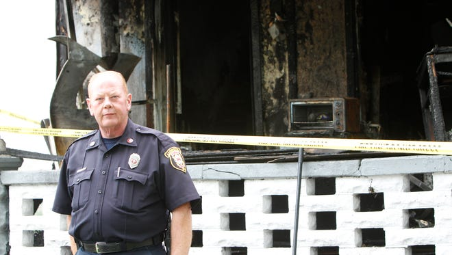 Lafayette Fire Inspector Todd Trent says an arsonist is preying on families on Wabash Avenue.
