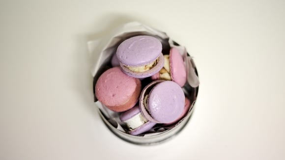The Steep House will offer unique desserts, such as these macarons filled with chocolate ice cream.