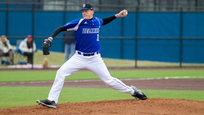 Delaware pitcher Brandon Walter, a freshman out of Hodgson, has 78 strikeouts in 75 1/3 innings and a 3.23 ERA.