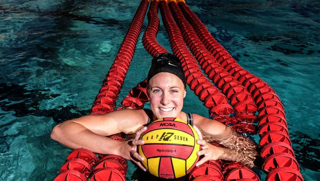Palm Desert High School water polo player Elise Stein on Tuesday, June 14, 2016. She is The Desert Sun's female athlete of the year.