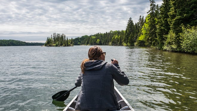 Make plans to get on a boat, even if you took a ferry to the park: National Park Service-guided tours are available, or rent a motorboat, kayak, or canoe to go and explore on your own.