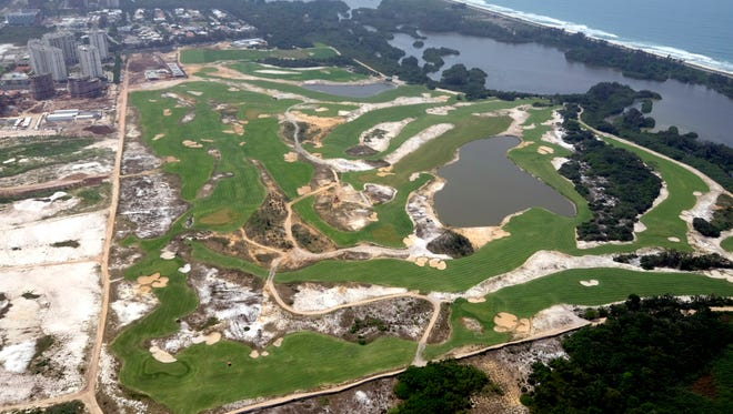 The Olympic Golf Course will not be graced by many of the world's top golfers in August.