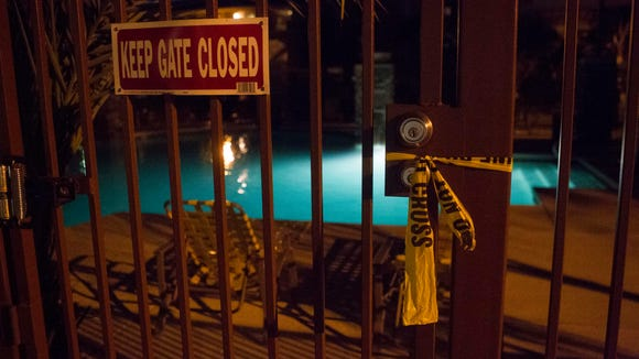 Phoenix police respond to a near-drowning incident