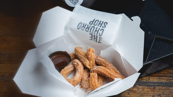 The Churro Shop is a new service by Spanish restaurant Movida in Walker's Point, selling churros to go Thursday to Sunday.