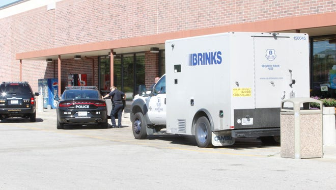 A woman jokingly told a Brinks employee to give her all the money. Six police cars later, it was a chain of bad decisions, but no crimes.