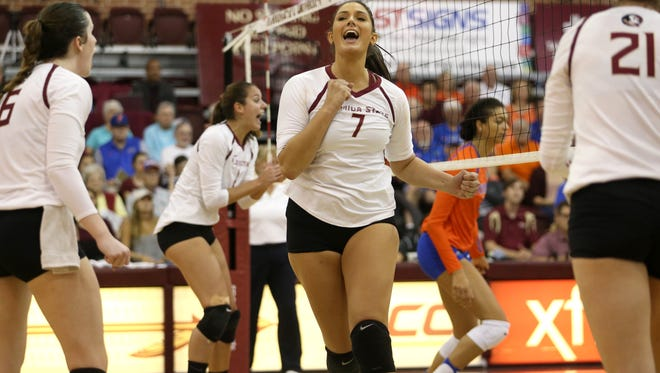 Milica Kubura and the rest of FSU's seniors will play the final home matches of their college careers this weekend.