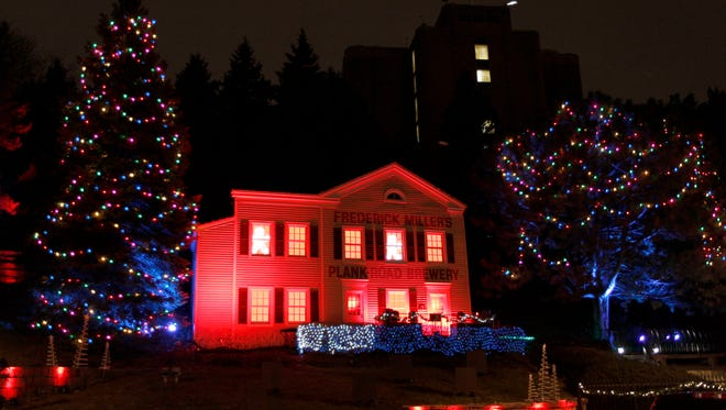 Holiday Lites at MillerCoors is free and open to the public.