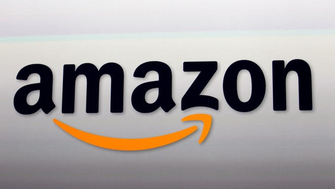 File photo of Amazon logo. The company has become a customer of mom and pop businesses across the country.