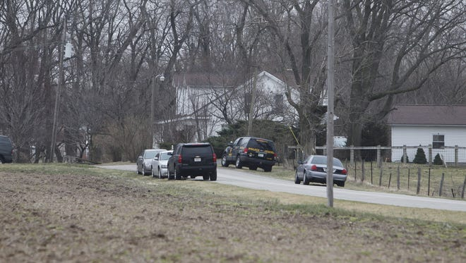 On March 17, police searched the home, outbuildings, land and automobiles of the man who owns the land on which the slain Delphi teens were found.
