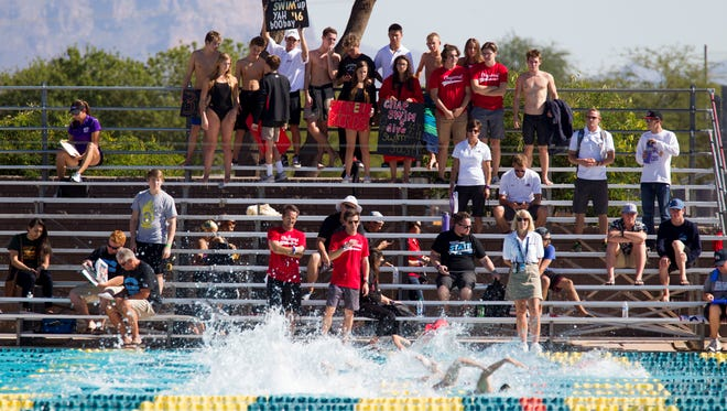SCOTTSDALE CHAPARRAL - Div. II boys swimming and diving.