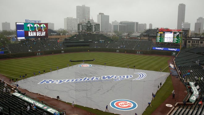 Rain caused havoc for fantasy owners last week with the Cubs and Brewers getting rained out.