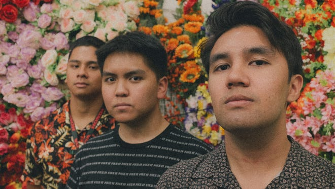 The band Local Deluxe creates original music and adds pop alternative to Guam's music scene.  Band members Christian Delgado (front), Christian  Sumalpong (middle) and Gino Datuin (back).