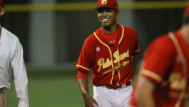 Jeremiah Estrada, who played for Palm Desert High School is expected to be drafted by a Major League Baseball organization this summer.