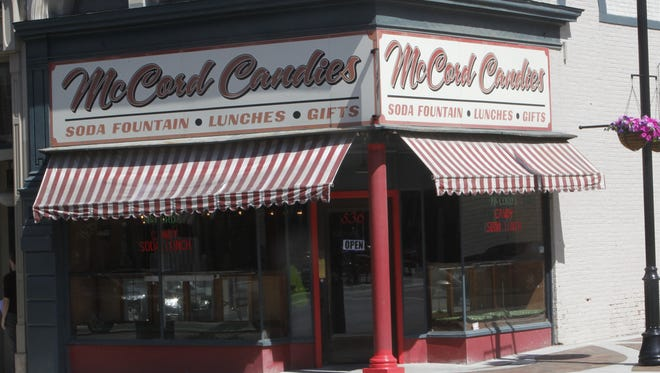 Denise and Ken Bootsma are the proud new owners of McCord Candies, a downtown Lafayette landmark since 1912. Of course the fountain drinks, ice cream and candies stay, but they also plan to tweak the menu and redecorate the inside of the store.