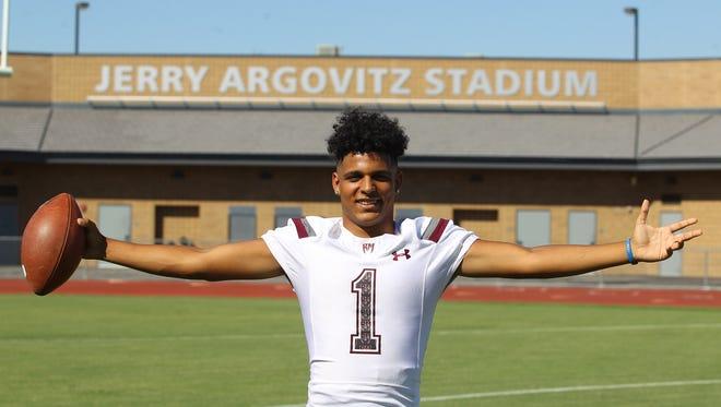 Marques Prior of Rancho Mirage High School.