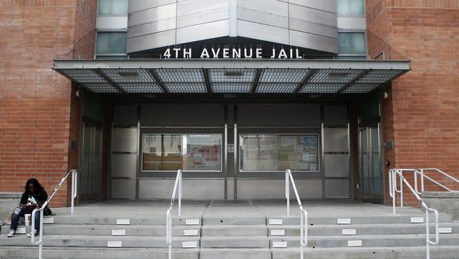 The Maricopa County Fourth Avenue Jail.